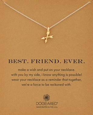 Dogeared 'Best. Friend. Ever.' Pendant Necklace