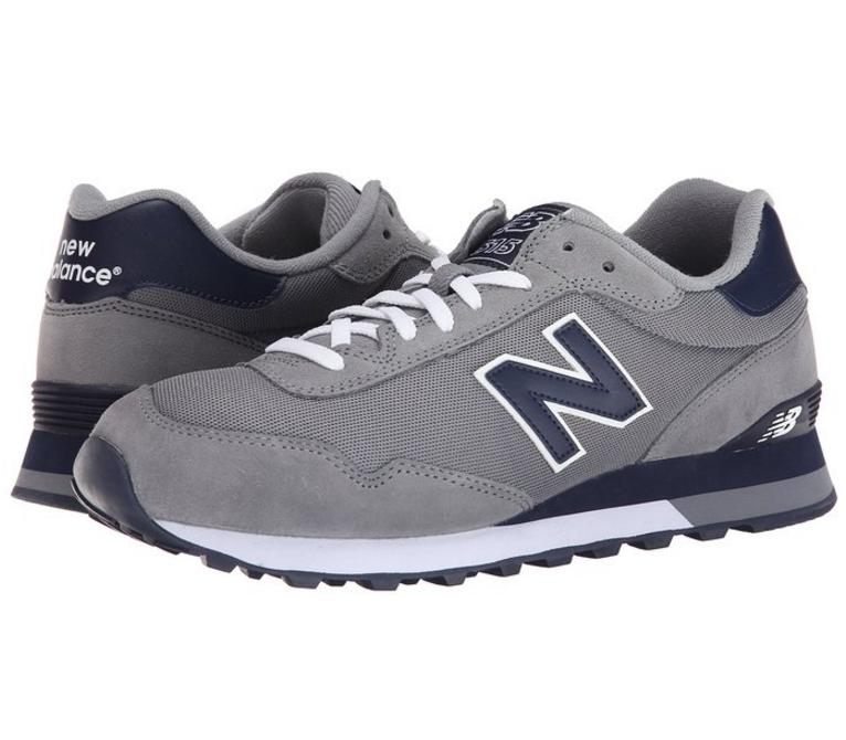 From $41.97 New Balance Men's ML515 Pique Polo Pack Running Shoe, Grey