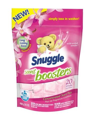 Snuggle Laundry Scent Boosters, Wild Orchid Wonder, 20 Count
