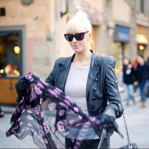 Up to 60% Off Alexander McQueen 100% Silk Scarves On Sale @ 6PM.com