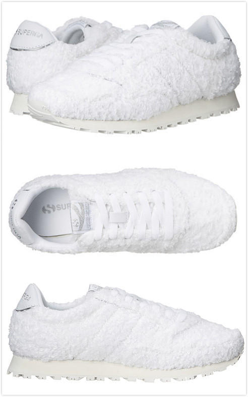 SUPERGA Fuzzy Jam Women's Sneakers On Sale @ 6PM.com