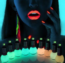 $10.50 Mia Secret Glow In The Dark Neon Nail Lacquer Nail Polish 3pcs Set Neon Blue,Neon Hot Pink, Neon Yellow ( 0.5 oz bottles)