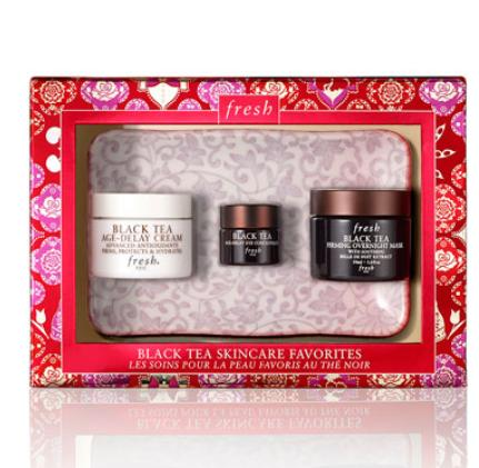 $94 Fresh  Limited Edition Black Tea Skincare Favorites Set ($131 Value) @ Neiman Marcus