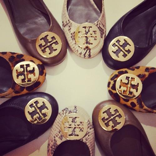 Up to 70% Off Tory Burch Reva Flats @ Tory Burch