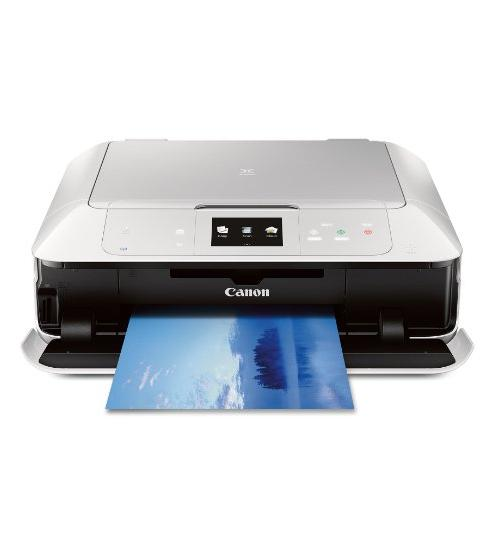 CANON MG7520 Wireless Color Cloud Printer with Scanner and Copier, White