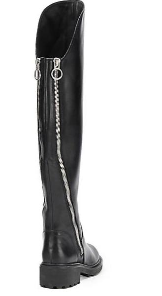 Ash Seven Leather Over-The-Knee Boots