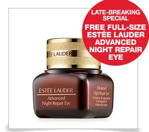 Free Full-Size Eye Gel Creme+ Eye Gel Creme Deluxe Sample with your purchase of 1.7 oz. Advanced Night Repair Synchronized Recovery Complex II @ Estee Lauder