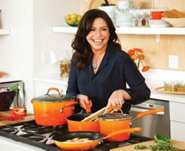 Rachael Ray 14-Piece Nonstick Cookware Set (3 colors)