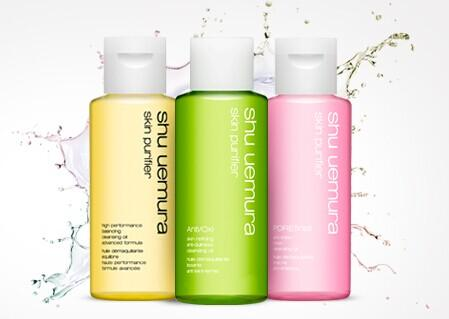 Free 3 Cleansing Oils + free shipping with Any Order Over $50 @ Shu Uemura