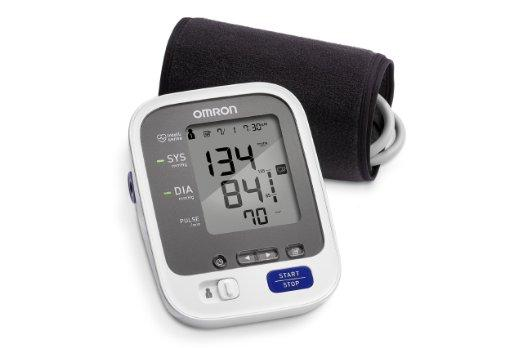 Lightning deal! Omron 7 Series Wireless Upper Arm Blood Pressure Monitor with Wide-Range ComFit Cuff (BP761)