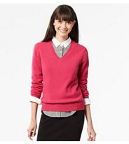 From $19.90 + Free Shipping Select Lambswool Sweaters @ Uniqlo