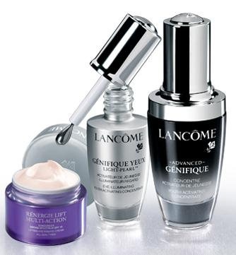 Free 8 Deluxe Samples with Any Order over $39 @ Lancome