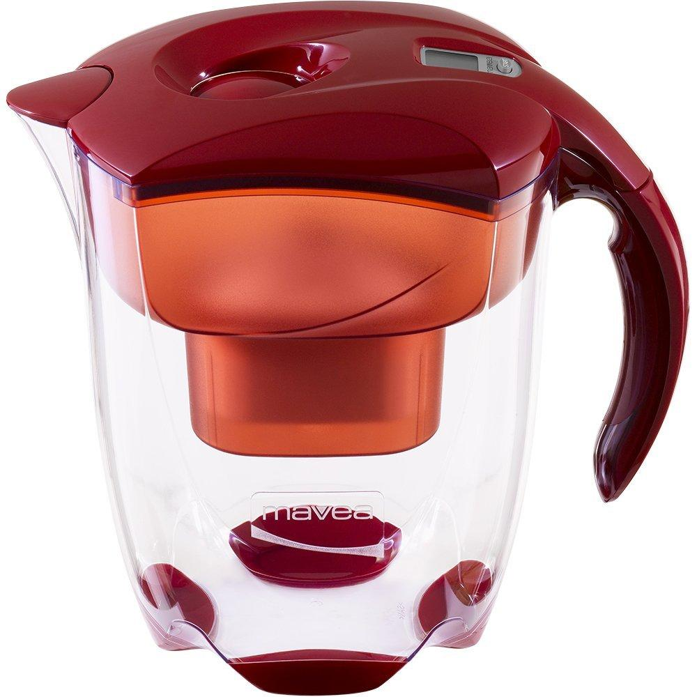 MAVEA 1005772 Elemaris XL 9-Cup Water Filtration Pitcher