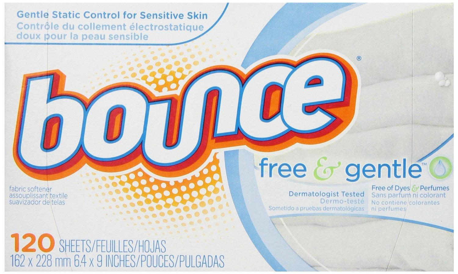 Bounce Free Fabric Softener Sheets 120 ct