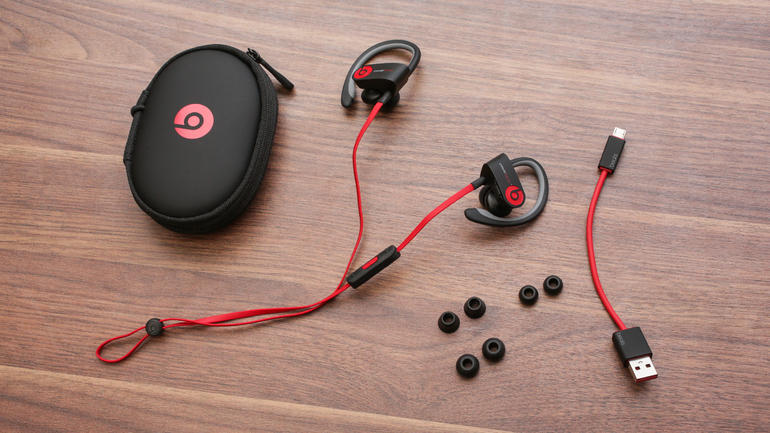 Beats Powerbeats 2 Wireless In-Ear Headphones - Black (Certified Refurbished)