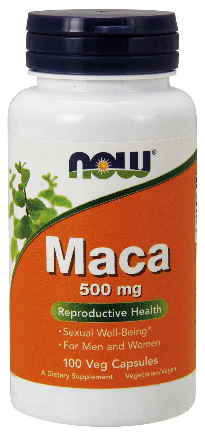 NOW Foods Maca 500mg, 100 Capsules