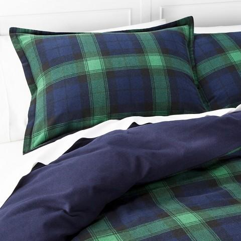 Threshold™ Flannel Duvet Cover Set - Full/Queen