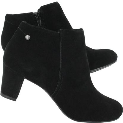 Hush Puppies Corie Imagery Suede Ankle Boots