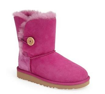 UGG  'Bailey Button' Girls' Boot (1M)