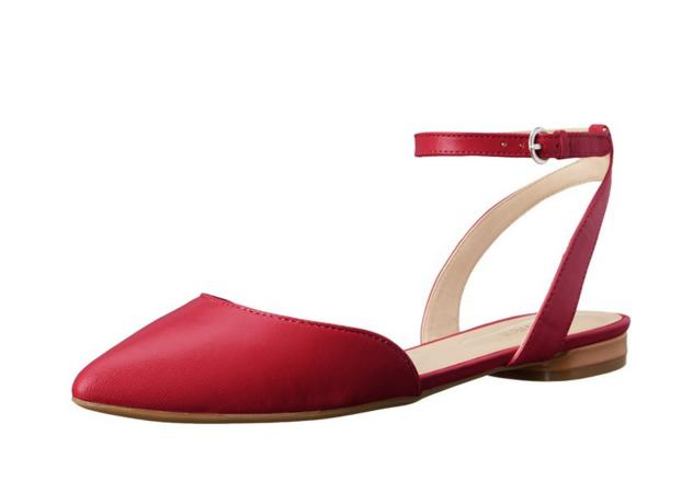 Nine West Women's Overtime Leather Ballet Flat