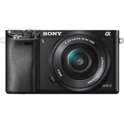 $648 Sony Alpha a6000 Mirrorless Digital Camera with 16-50mm Zoom Lens Sony 55-210mm Lens