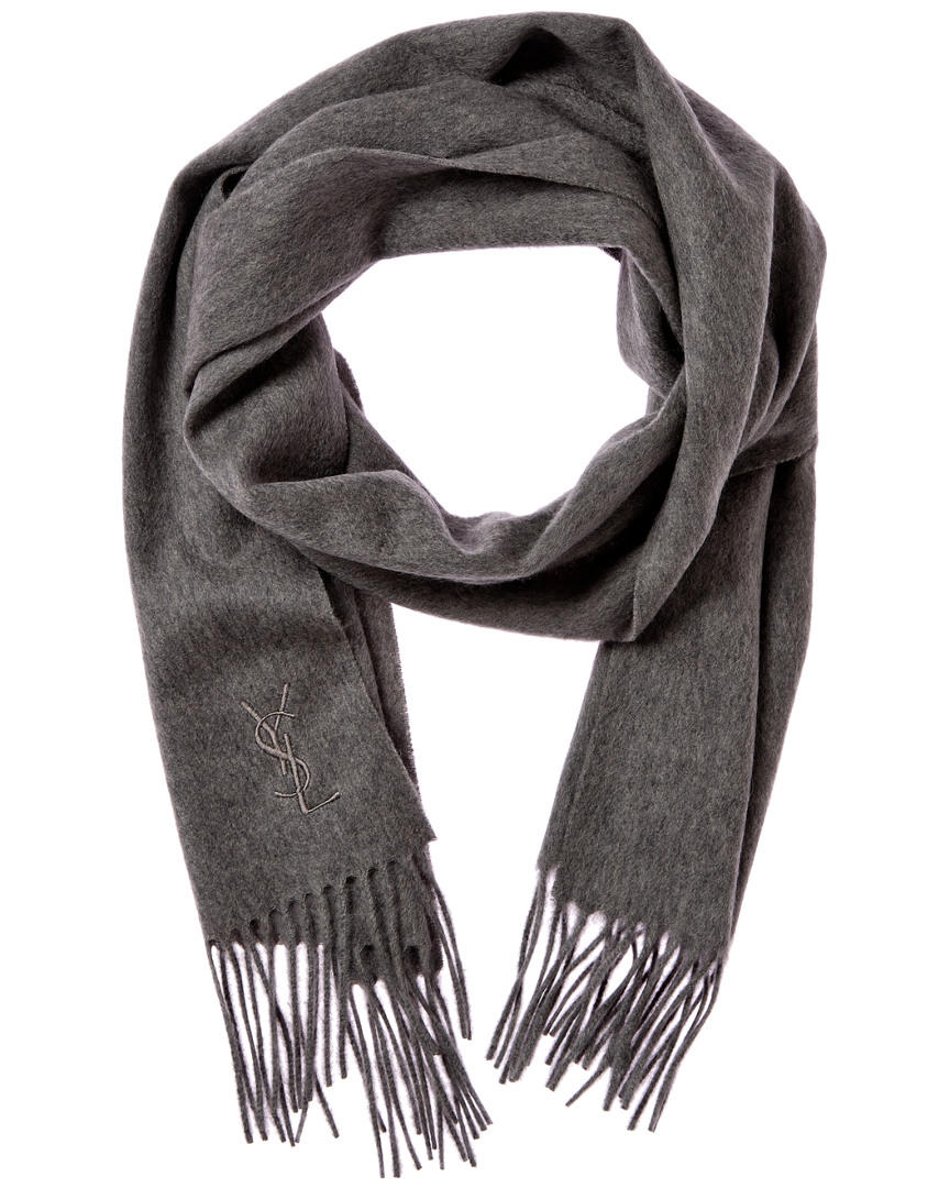 Yves Saint Laurent Women's Cashmere Scarf On Sale @ Rue La La