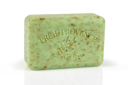 $5.96 Pre de Provence Soap Shea Enriched Everyday 250 Gram Extra Large French Soap Bar - Sage