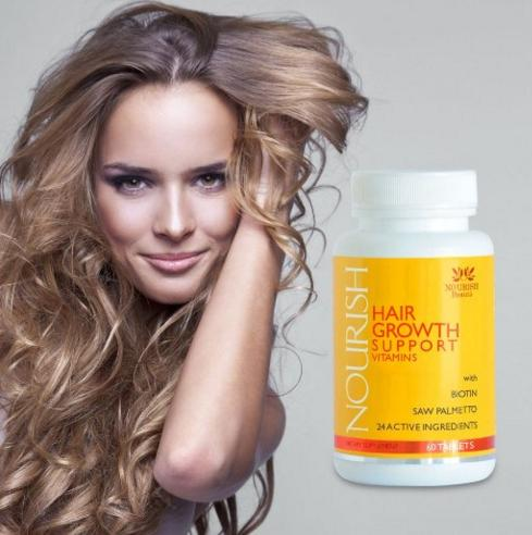 Vitamins for Hair Growth: Best Alopecia Treatment to Stop Hair Loss & Make Hair Grow Faster