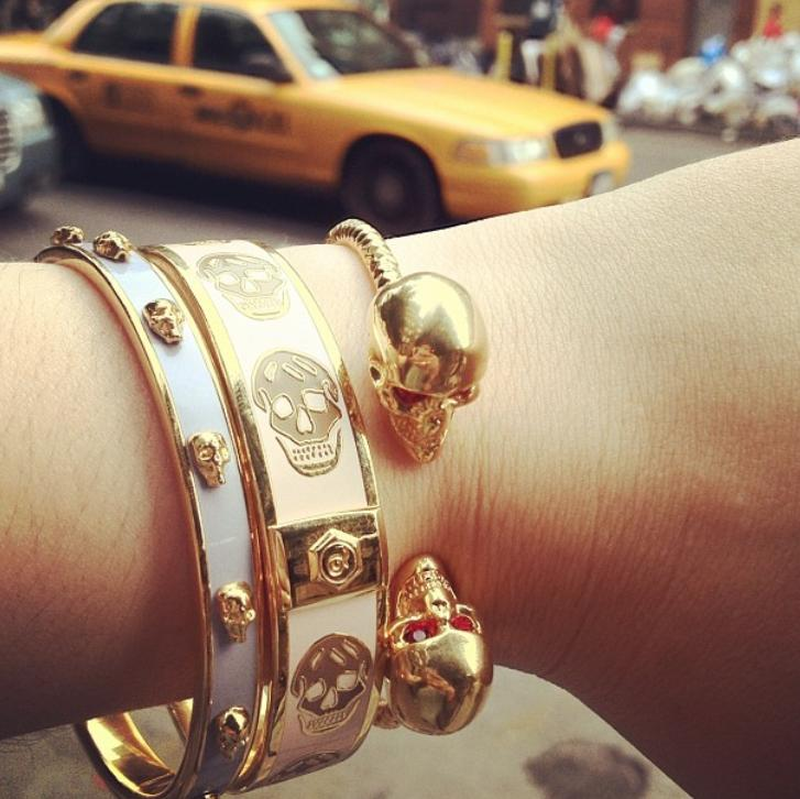 Up to 70% Off Alexander McQueen Jewelry @ 6PM.com