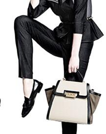 $30 Off $150 ZAC Zac Posen Leather Satchel @ Saks Off 5th