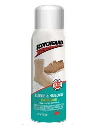 $8.99 Scotchgard Leather Protector for Suede and Nubuck, 7-Ounce