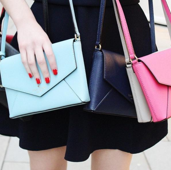 Up to 75% off Pink And Blue bags @ kate spade