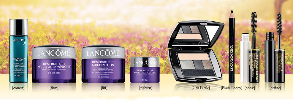 Free 9 travel size with $39 purchase Lancome Beauty Products @ Lancome