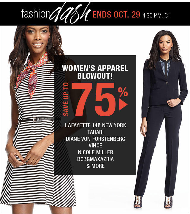 Up to 75% OFF Women's Designer Apparel in Fashion Dash @ LastCall by Neiman Marcus