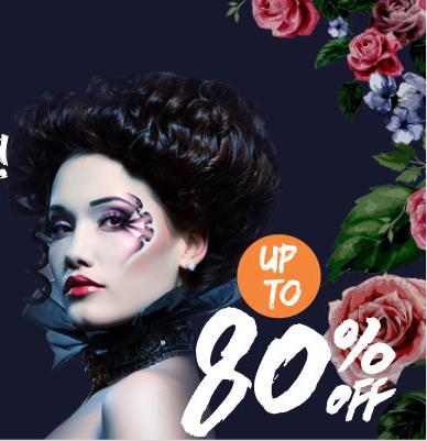 Up to 80% Off Pre & Post Op Halloween Make Up Kit @ Sasa.com