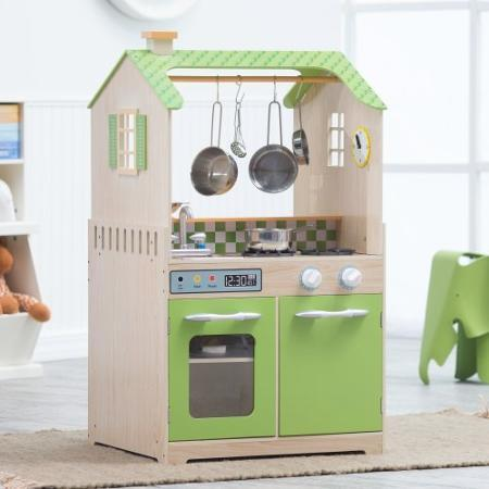 Teamson Kids Play Kitchen and Laundry Playset