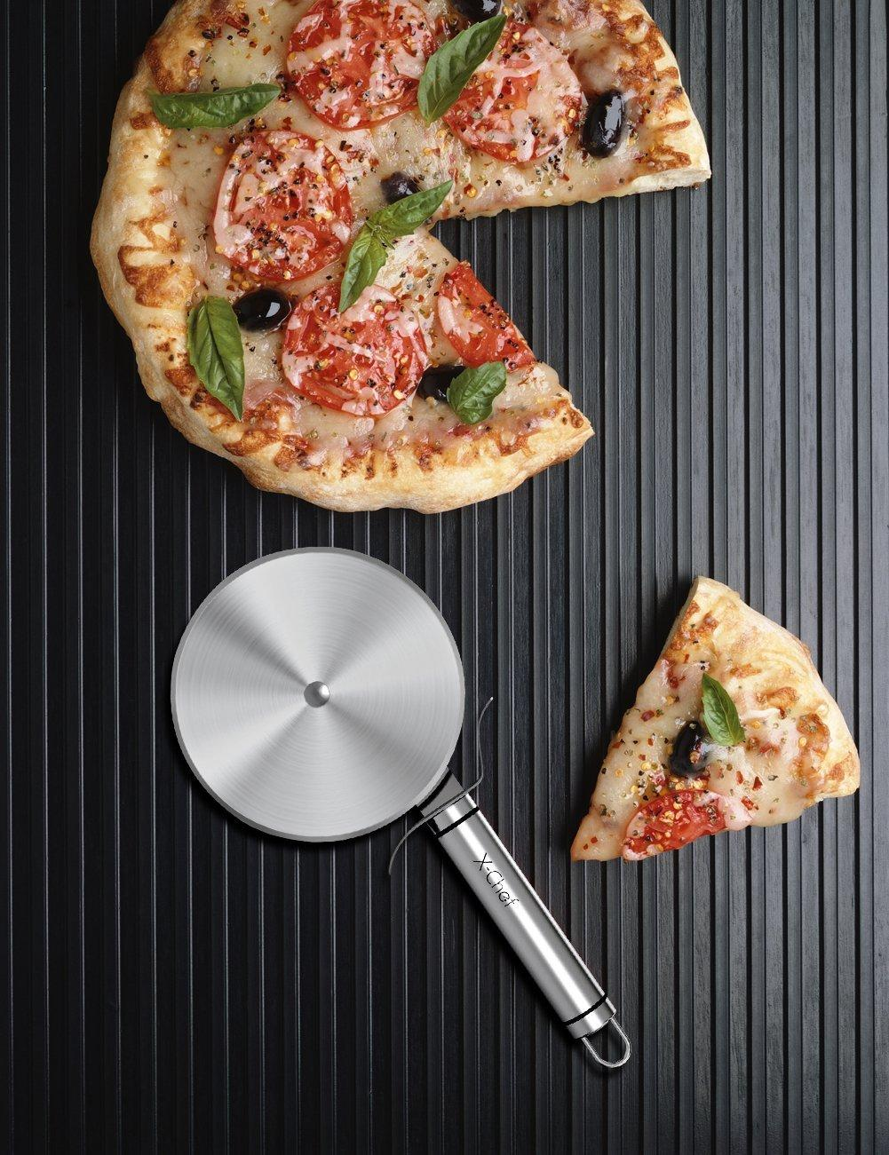 X-Chef Stainless Steel Pizza Cutter Wheel
