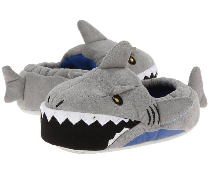 Stride Rite Little Boy's Light-Up Mouth Shark Slipper