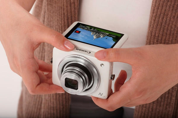 Canon PowerShot N 12.1 MP CMOS Digital Camera with 8x Optical Zoom and 28mm Wide-Angle Lens