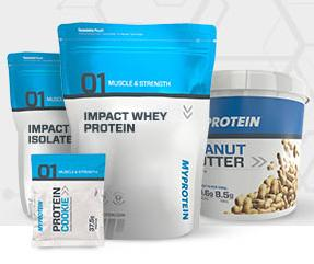 Up to 33% Off sitewide @ Myprotein