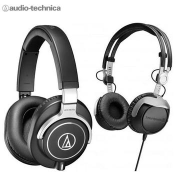 Audio-Technica ATH-M70X &  Beyerdynamic DT 1350 Pro Monitor Headphones