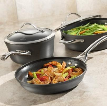 Calphalon Contemporary Hard-Anodized Aluminum Nonstick Cookware, Set, 11-Piece