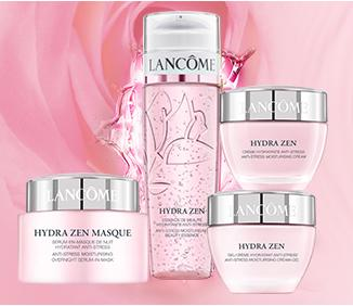 15% OFF + Free 3 Advanced Genifique Samples + Beach Tote + Free Shipping with Hydra Zen Collection Purchase @ Lancome