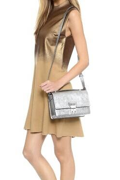 $30 Off $150 3.1 Phillip Lim Pashli Mini Metallic Leather Crossbody @ Saks Off 5th