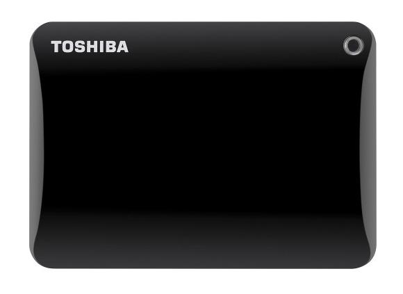 Toshiba Canvio Connect II 3TB External USB 3.02.0 Portable Hard Drive Black HDTC830XK3C1