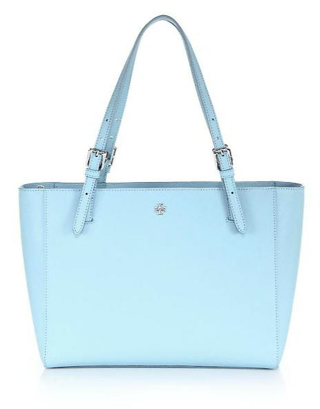 Tory Burch York Small Saffiano Leather Tote On Sale @ Saks Fifth Avenue