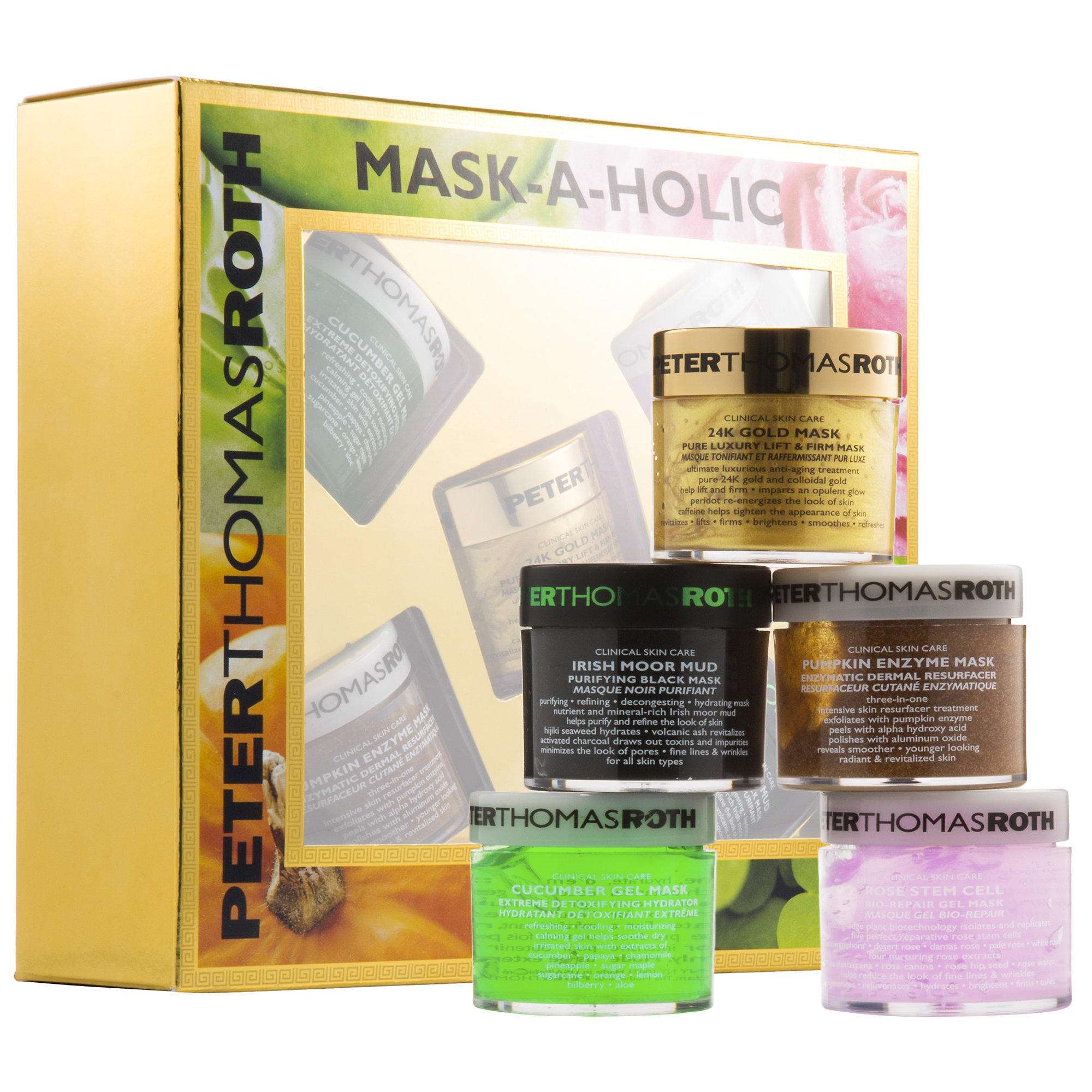 Peter Thomas Roth launched New Mask-A-Holic Kit