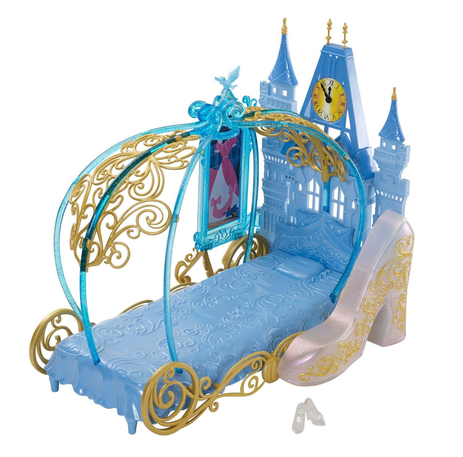 Disney Princess Cinderella's Dream Bedroom Playset Doll