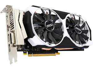 MSI GeForce GTX 960 2GD5T OC 2GB 128-Bit GDDR5 HDCP Ready SLI Support ATX Video Card