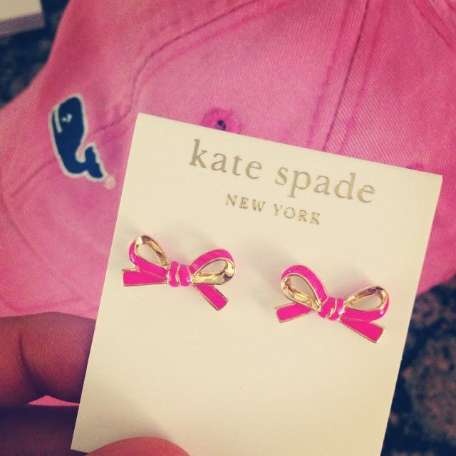 Earrings @ kate spade